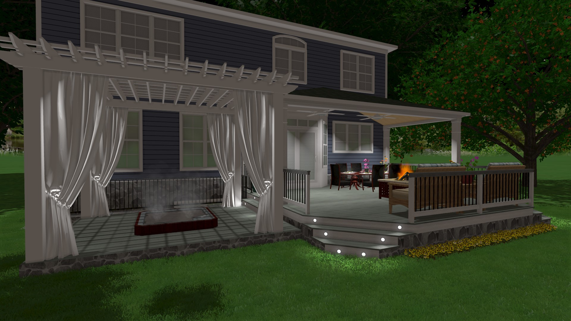Phoenix Home Services Provides 3D Designs of Your Project